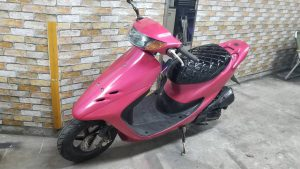 ライブディオZX 後期型 AF35 DioZX ピンク塗装【AZUDE Bike】